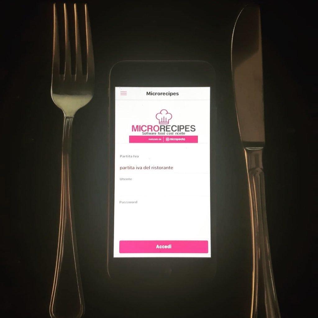 ricette di cucina sul cellulare app mobile